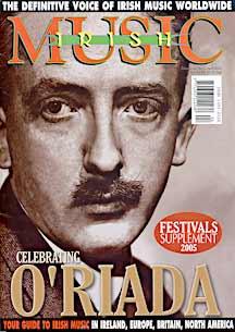 irish music magazine cover april 2005